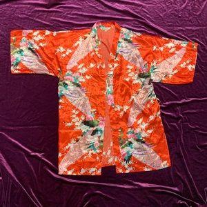 Vintage 90s Japanese Kimono Robe
